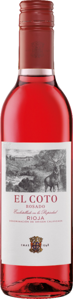 """Halbflasche Rioja """"El Coto"""" rosado DOCa"""