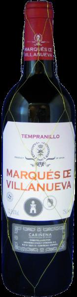 """""""Marqués de Villanueva"""" Tempranillo Cariñena D.O."""