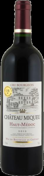 Château Miqueu Cru Bourgeois Haut-Médoc AOC