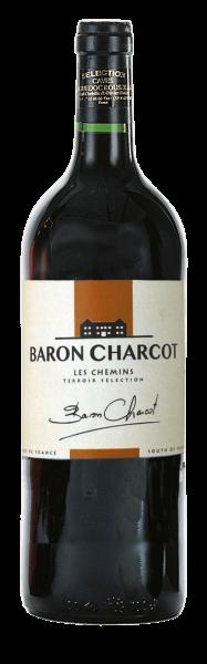 """""""Baron Charcot"""" rouge Vin de Pays de l'Herault"""