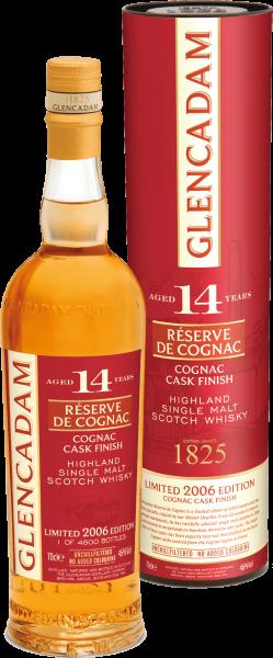 Glencadam Highland Single Malt 14 Years Réserve de Cognac
