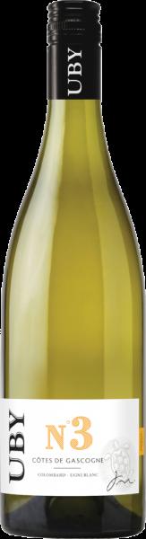 Uby N°3 Colombard Sauvignon Côtes de Gascogne IGP