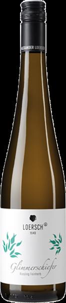 Weingut Loersch - Glimmerschiefer Riesling feinherb Mosel QbA