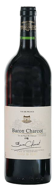 Les Vins de Saint Saturnin - Baron Charcot rouge Vin de Pays de lHerault
