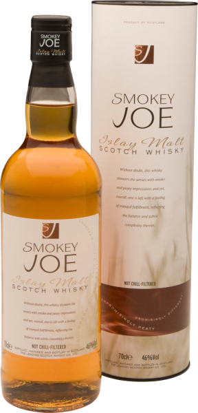 """Smokey Joe"" Islay Malt Scotch Whisky not chillfiltered"