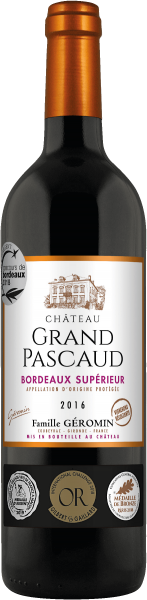 Château Grand Pascaud Bordeaux supérieur AOP