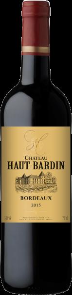 Château Haut Bardin Bordeaux rouge AOC