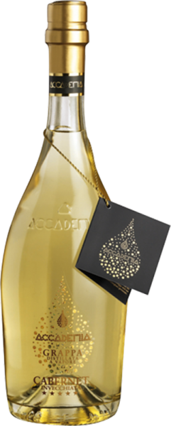 Bottega Spa - Grappa Gialla Accademia 5 Annate in Geschenkpackung