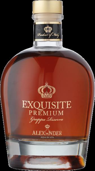 Alexander Exquiste Premium Grappa Riserva - 38% Vol.