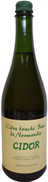 """Cidre Bouché Brut """"Cidor"""" mit Schraubverschluss"""