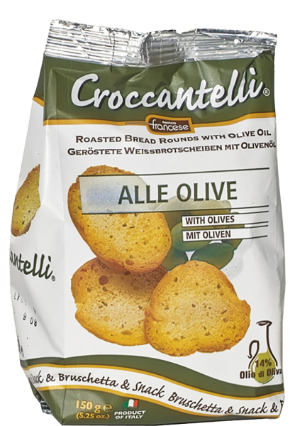 Panifico Francese - Croccantelli alle Olive