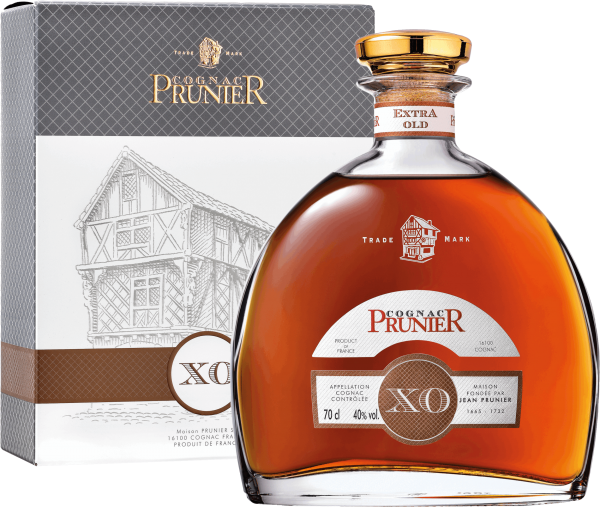 Cognac Prunier Carafe X.O. - 40% Vol.