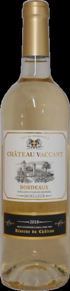 Château Vaccant Bordeaux moelleux AOC