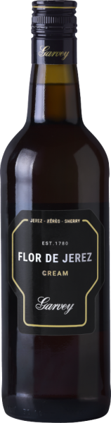 """Garvey"" Sherry Cream ""Flor de Jerez"" 19% Vol."