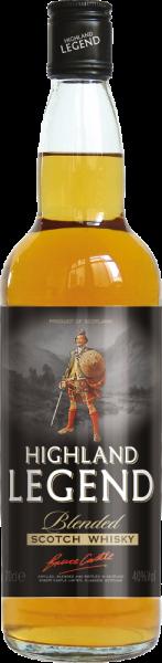 """""""Highland Legend"""" Blended Scotch Whisky - 40% Vol."""