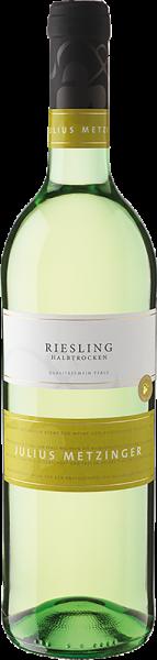 Südpfälzer Weinvertrieb - Julius Metzinger Riesling QbA halbtrocken