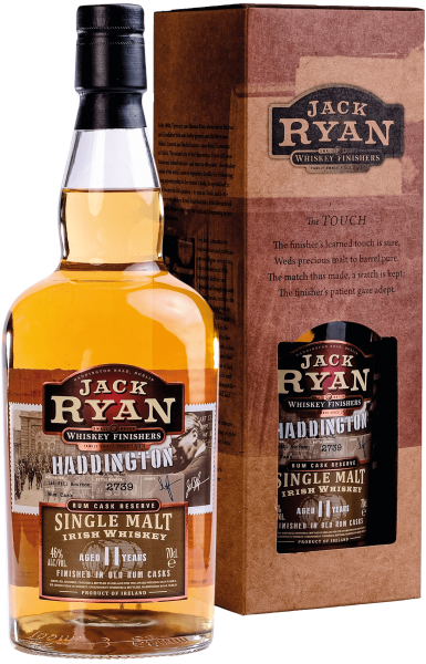 "Jack Ryan ""Haddington"" Single Malt Irish Whiskey Aged 11 Years - 40% Vol."