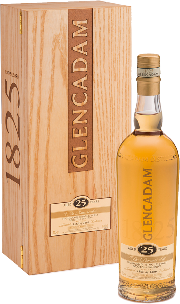 Glencadam - Glencadam Highland Single Malt Whisky The Remarkable 25 Years in Holzkiste