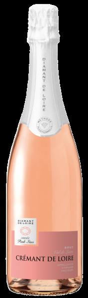 """""""Diamant de Loire"""" Brut AOC Crémant Brut Rosé"""