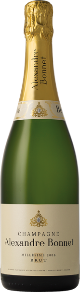 Maison Alexandre Bonnet - Champagner Alexandre Bonnet Brut Millésime 2006