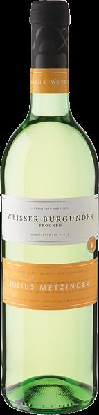 Südpfälzer Weinvertrieb - Julius Metzinger Weisser Burgunder QbA trocken
