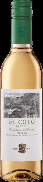 """Halbflasche Rioja """"El Coto"""" blanco DOCa"""