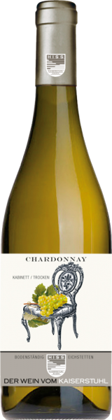 Chardonnay Kabinett trocken Weingut Hiss