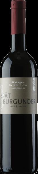Spätburgunder trocken Weingut Gerold Spies