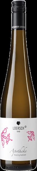 Weingut Loersch - Apotheke Riesling Spätlese fruchtsüss Mosel QbA