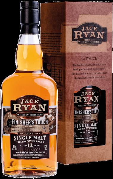 "Jack Ryan ""Finisher's Touch"" Single Malt Irish Whiskey Aged 12 Years - 40% Vol."