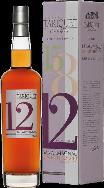 Domaine du Tariquet - Armagnac Tariquet Folle Blanche 12 Ans dAge