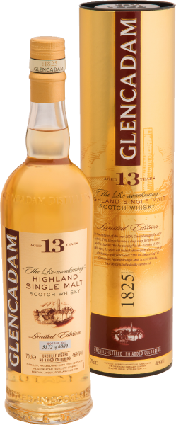 "Glencadam Single Malt Whisky Aged 13 Years ""The Re-awakening"" Limited Edition"