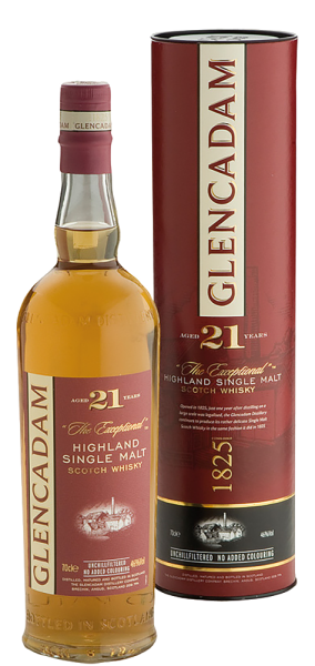 Glencadam - Glencadam Highland Single Malt Whisky 21 Years unchillfiltered