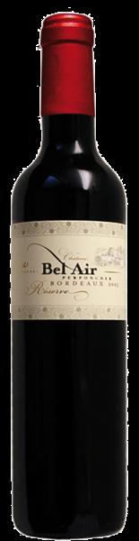 Château Bel Air Perponcher - Château Bel Air rouge Réserve Bordeaux AOC Demi-Bouteille