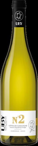 Uby No. 2 Chardonnay Chenin Côtes de Gascogne IGP